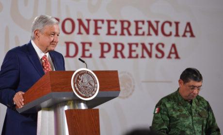 AVANZA FORTALECIMIENTO DE LA GUARDIA NACIONAL: AMLO