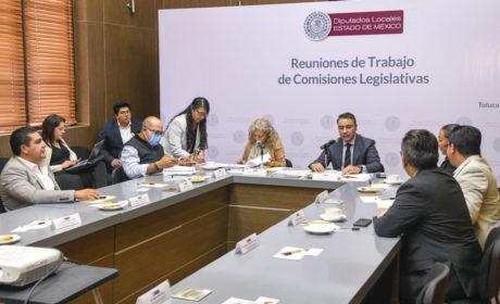 AVALA COMISIÓN LEGISLATIVA LA DONACIÓN DE TRES INMUEBLES A LA FGJEM
