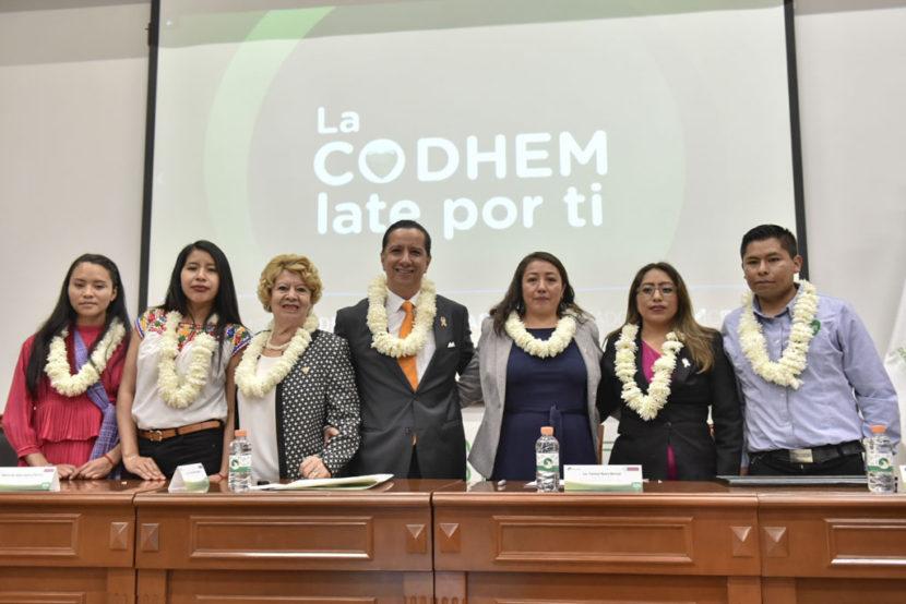 CON ACUERDO LEGISLATURA-CODHEM INICIA FUNCIONES VISITADURÍA  PARA ATENDER A PUEBLOS ORIGINARIOS