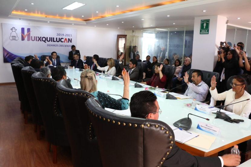 HUIXQUILUCAN APRUEBA PRESUPUESTO 2020