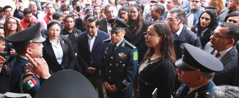 UNIDOS POR LA SEGURIDAD, SOMOS LA GRAN FUERZA DE MÉXICO: PATRICIA DURÁN