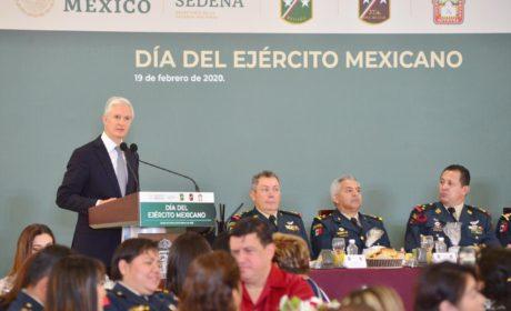 RECONOCE ALFREDO DEL MAZO COMPROMISO DEL EJÉRCITO MEXICANO