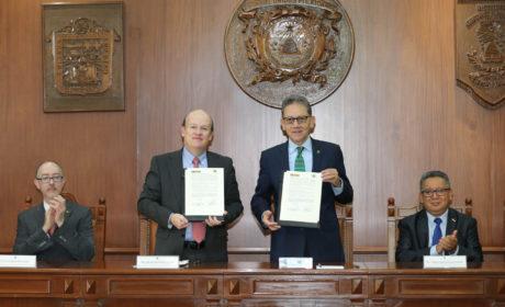 UAEM Y GRUPO LA MODERNA FIRMARON CONVENIO DE COLABORACIÓN