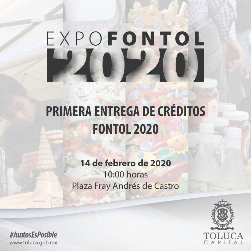ENTREGARÁ TOLUCA MICROCRÉDITOS FONTOL 2020