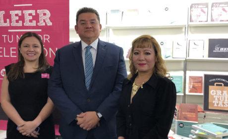 DESTACA PARTICIPACIÓN DEL IEEM EN LA FIL DEL PALACIO DE MINERÍA