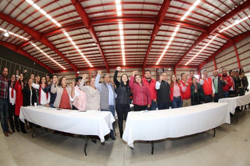 NECESITAMOS TRABAJAR CON CONVICCIÓN  Y CON VALORES: ALEJANDRA DEL MORAL