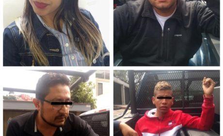 POLICÍA DE HUIXQUILUCAN DETIENE A 4 PRESUNTOS DELINCUENTES DE NACIONALIDAD COLOMBIANA