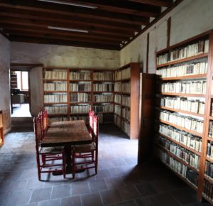 INVITAN A CONOCER BIBLIOTECA DEL MUSEO VIRREINAL DE ZINACANTEPEC