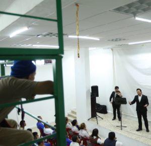LLEVAN MÚSICA Y CULTURA A CENTROS PENITENCIARIOS DEL EDOMÉX