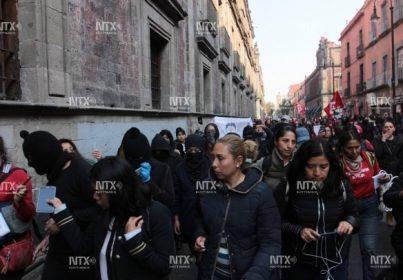 PROTESTAS Y MARCHAS EN CDMX POR FEMINICIDIOS