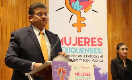 ANALIZAN EN IEEM LA PARTICIPACIÓN POLÍTICA DE LAS MUJERES