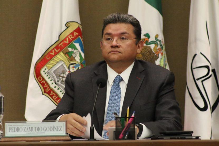 Fallece Pedro Zamudio, consejero presidente del IEEM