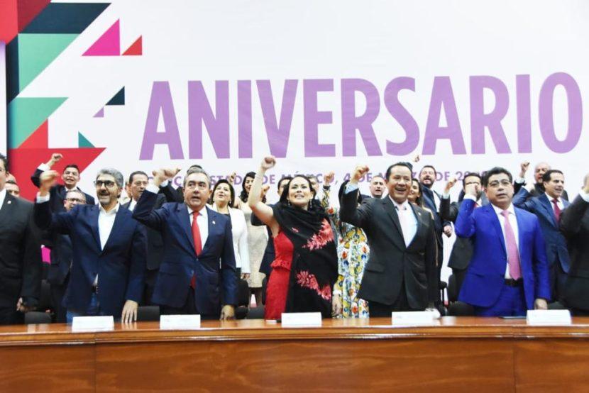 EN EL PRI CELEBRAMOS 91 AÑOS VIENDO AL FUTURO:  ALEJANDRA DEL MORAL