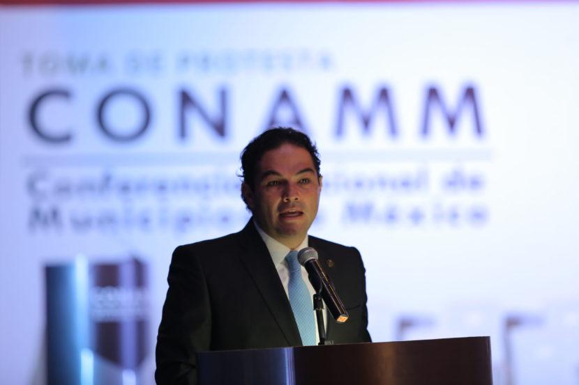 MUNICIPIOS DEBEN APOYAR AL PRESIDENTE DE LA REPÚBLICA EN COSAS POSITIVAS, NO EN OCURRENCIAS: EVV