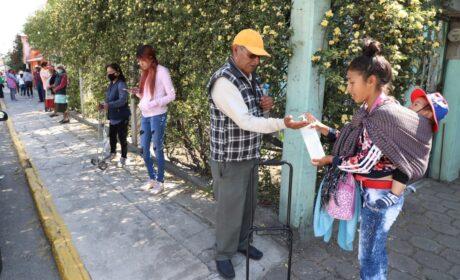 ENTREGA GEM APOYOS ALIMENTARIOS A FAMILIAS MEXIQUENSES DE ESCASOS RECURSOS
