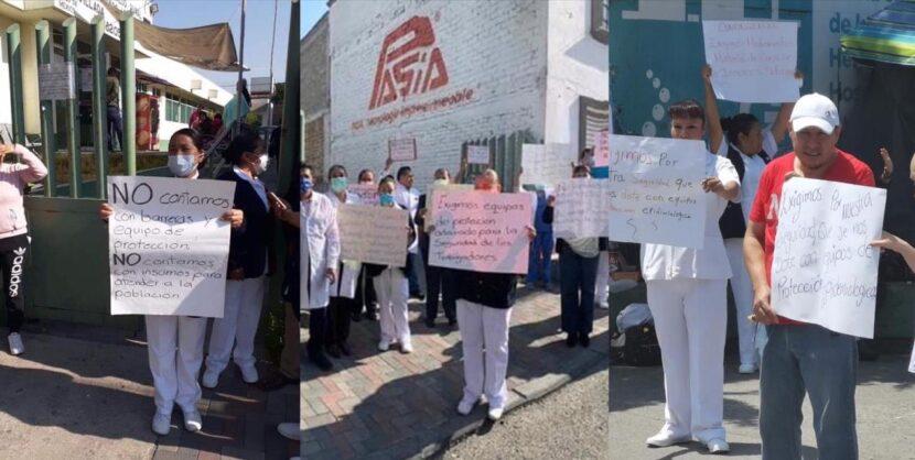 PERSONAL MÉDICO DENUNCIA FALTA DE INSUMOS PARA ATENDER POSIBLES CASOS DE COVID-19 EN VALLE DE TOLUCA