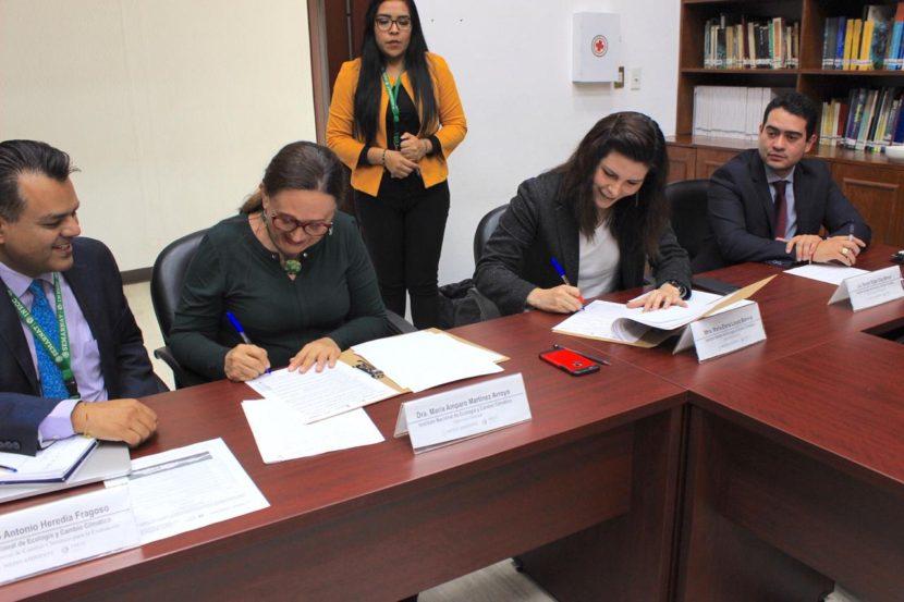 SIGNAN GEM E INECC CONVENIO PARA EL DESARROLLO DE PROYECTOS AMBIENTALES