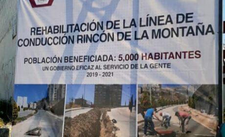 REHABILITA ATIZAPÁN LÍNEAS DE AGUA POTABLE