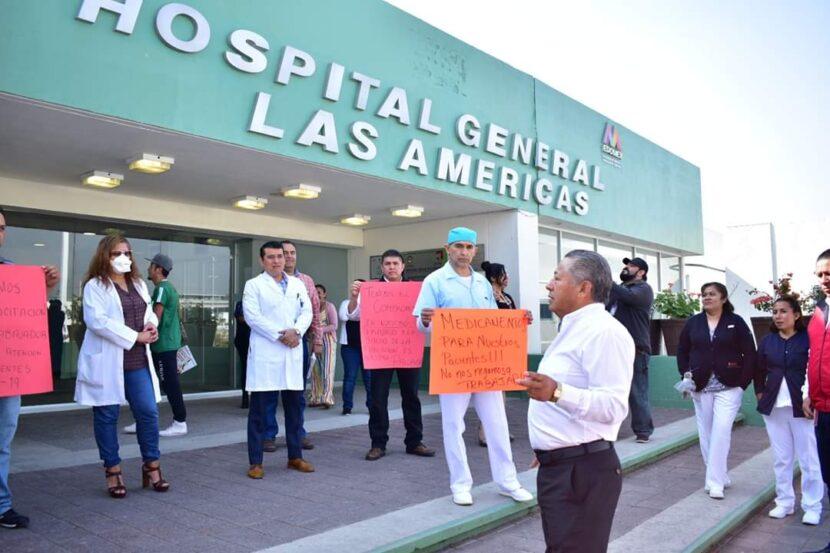 Médicos y enfermeras carecen de material para atender a pacientes ante la pandemia: Comisión de Salud