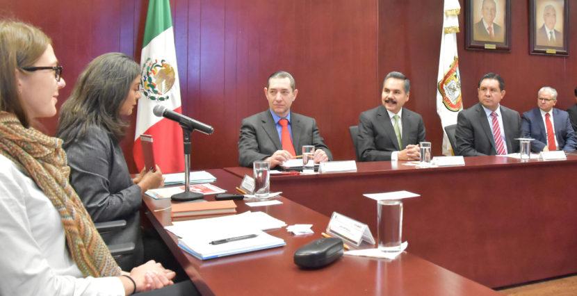 REVISAN AUTORIDADES MEXIQUENSES CON ESPECIALISTAS DE LA ONU TEMAS DE ÉTICA Y CIVISMO PARA EDUCACIÓN BÁSICA