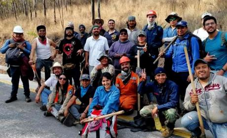 RECONOCE GEM APOYO DE SOCIEDAD CIVIL EN ACCIONES DE COMBATE DE INCENDIOS EN SIERRA DE GUADALUPE
