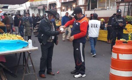 ACUERDOS PARA LA INSTALACIÓN DE MERCADOS CON MENOS MOVILIDAD DE COMERCIANTES Y PERSONAS