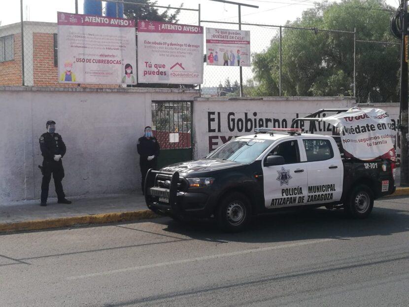 ATIZAPÁN RESGUARDA PANTEONES ANTE CONTINGENCIA SANITARIA