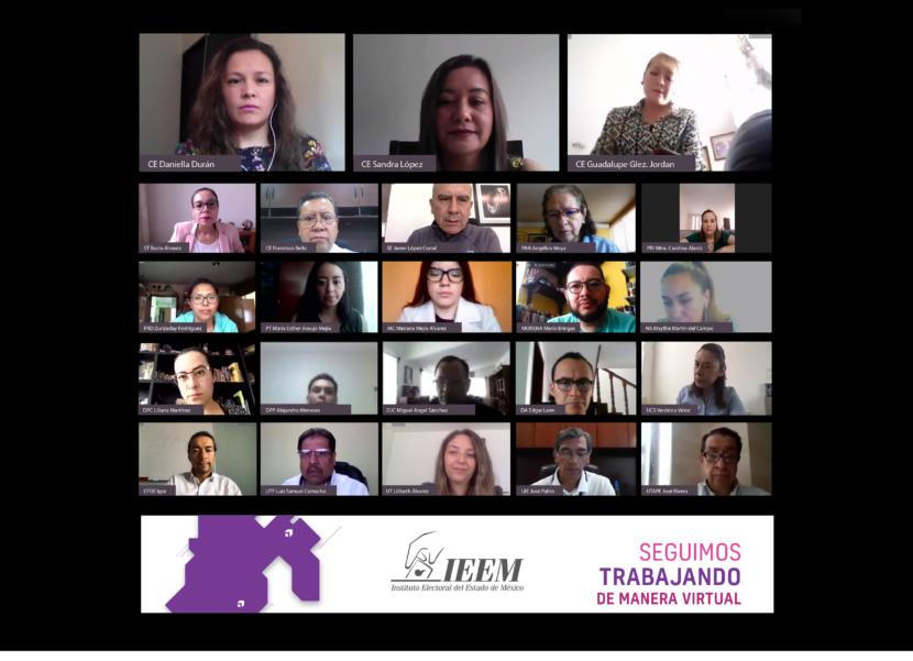 PRESENTA COMISIÓN ESPECIAL DE IGUALDAD DE GÉNERO Y NO DISCRIMINACIÓN DEL IEEM INFORMES DE ACTIVIDADES
