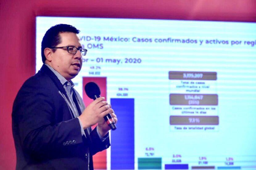 EN MÉXICO, VAN 54 MIL 346 INFECTADOS  Y  5 MIL 666  DEFUNCIONES POR LA PANDEMIA
