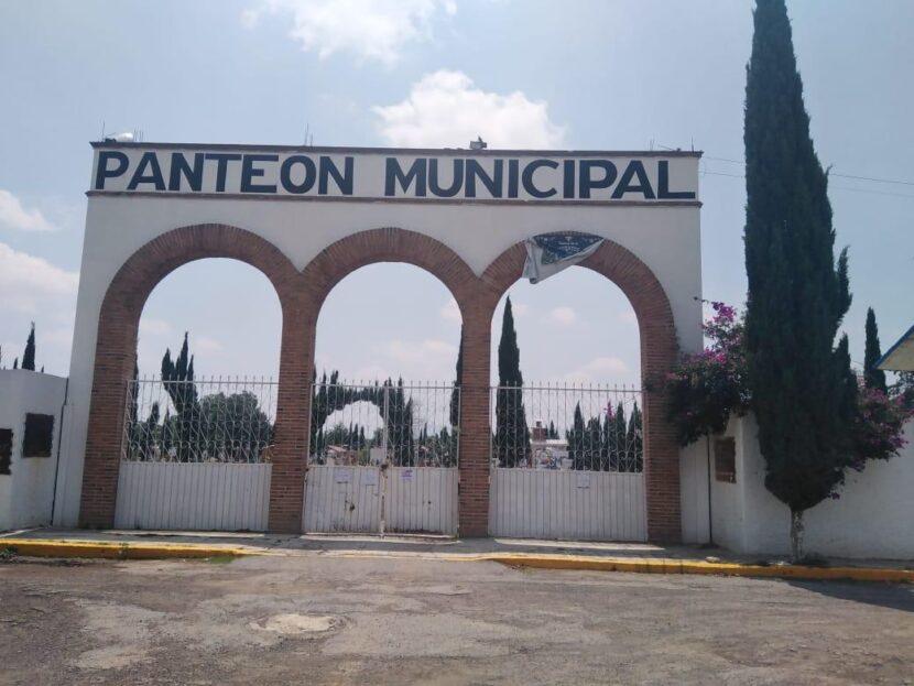 SUSPENDEN VISITAS A PANTEONES DEL EDOMÉX
