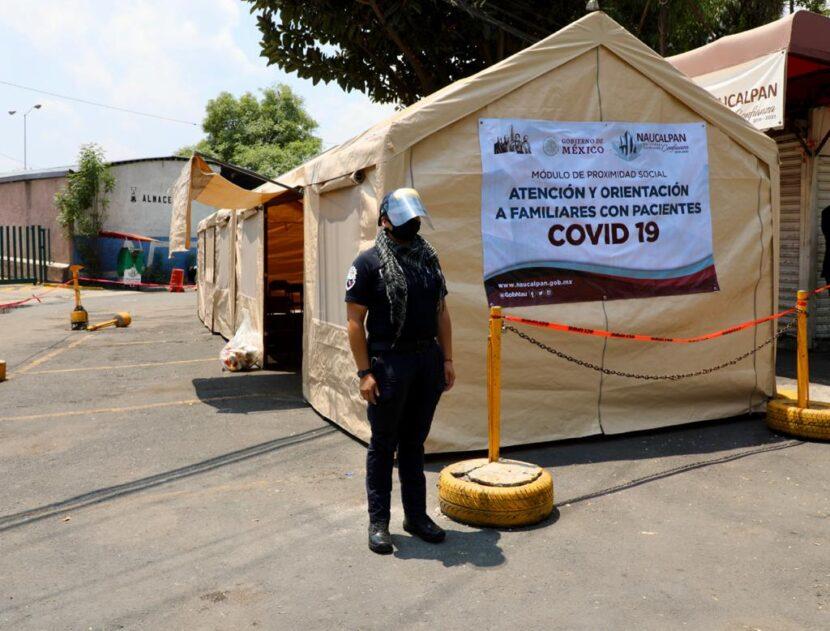 NAUCALPAN HABILITA MÓDULO DE INFORMACIÓN PARA FAMILIARES DE PACIENTES COVID