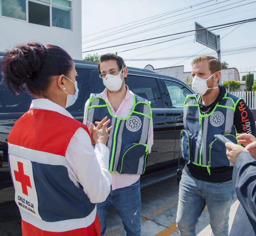 COMUNIDAD JUDIA EN MÉXICO RECONOCE A LA CRUZ ROJA