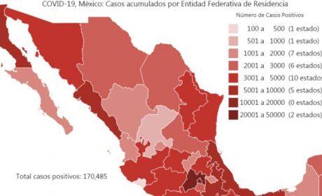 SUPERA MÉXICO LAS 20 MIL DEFUNCIONES POR COVID-19