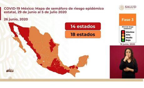 EN MÉXICO, SUMAN 208 MIL 392 CASOS POSITIVOS A COVID-19 CON 25 MIL 779 MUERTES