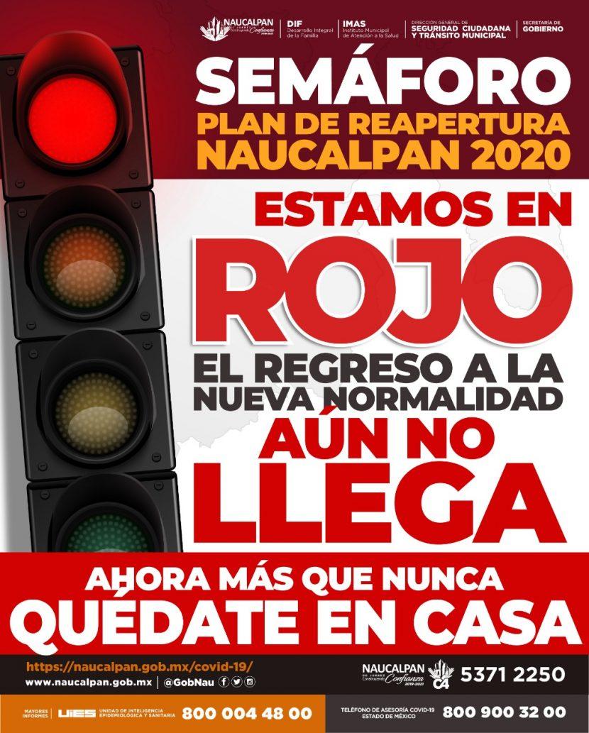 En Naucalpan estamos en semáforo rojo; el regreso a la nueva normalidad aún no llega: Patricia Durán Reveles