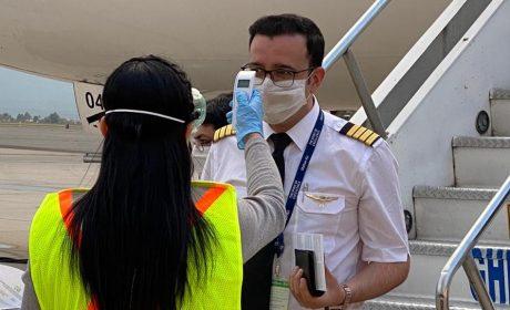 EN AEROPUERTO DE TOLUCA, ACUERDAN PROTOCOLO PARA PREVENIR COVID-19
