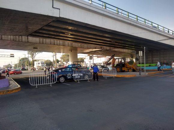 TOLUCA REDUCE MOVILIDAD EN LA ZONA DE LA TERMINAL DE AUTOBUSES Y EL MERCEDO BENITO JUÁREZ