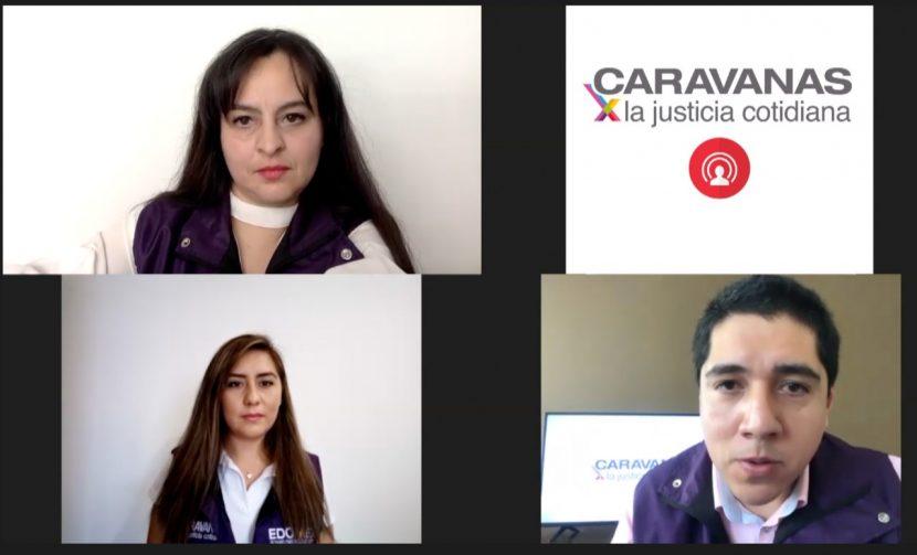 OPERAN CARAVANAS POR LA JUSTICIA COTIDIANA A TRAVÉS DE FACEBOOK