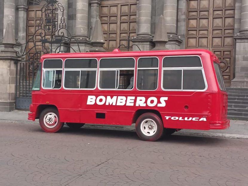 REHABILITAN UNIDAD DE PC Y BOMBEROS DE TOLUCA