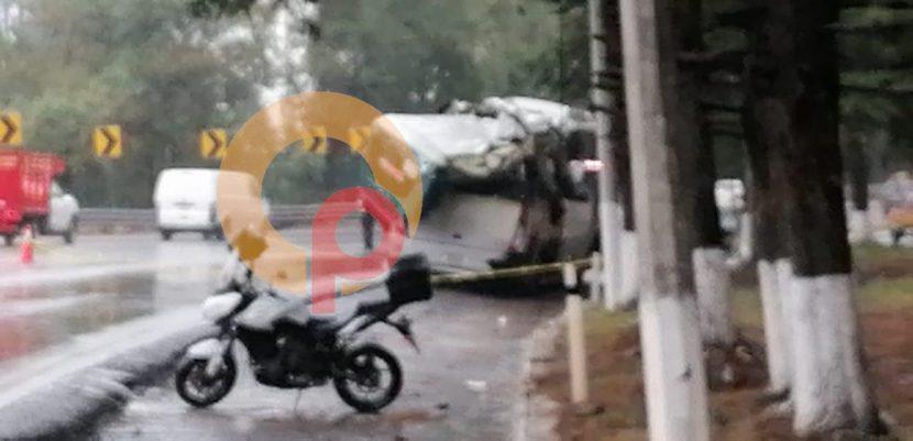 ACCIDENTE DEJA 2 MUERTOS EN LA MÉXICO-TOLUCA