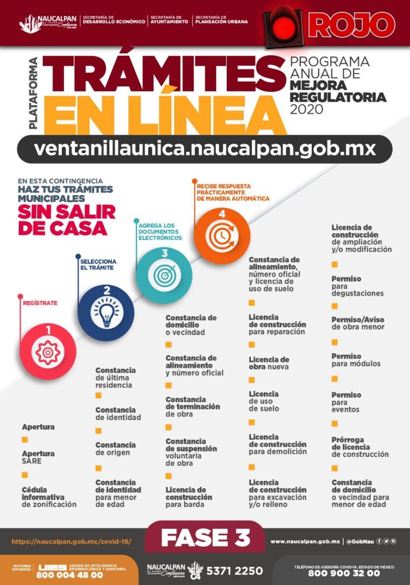 PRESENTA NAUCALPAN LA VENTANILLA ÚNICA DIGITAL