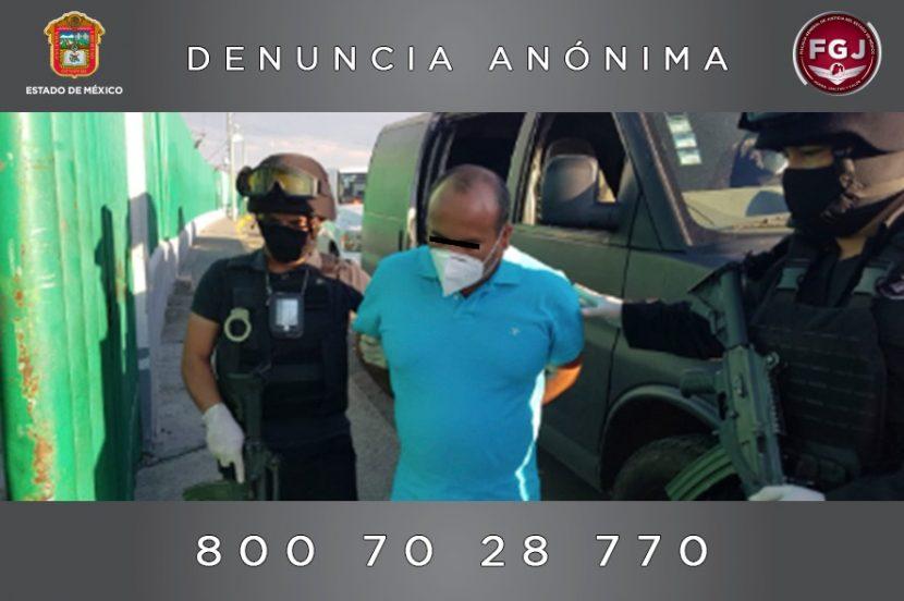 CUMPLIMENTA FGJEM ORDEN DE APREHENSIÓN EN CONTRA DEL ALCALDE DE ZACUALPAN POR HOMICIDIO CALIFICADO