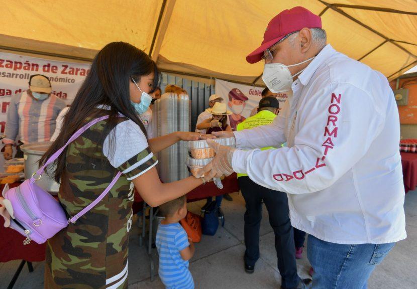 ATIZAPÁN ENTREGA 60 MIL DESPENSAS Y COMIDAS CALIENTES ANTE CONTINGENCIA SANITARIA