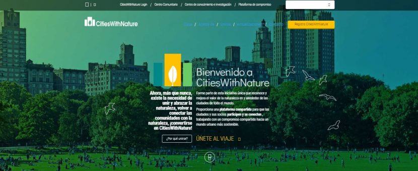 TOLUCA SE SUMA A PLATAFORMA INTERNACIONAL «CIUDADES  CON NATURALEZA» (CitiesWithNature)