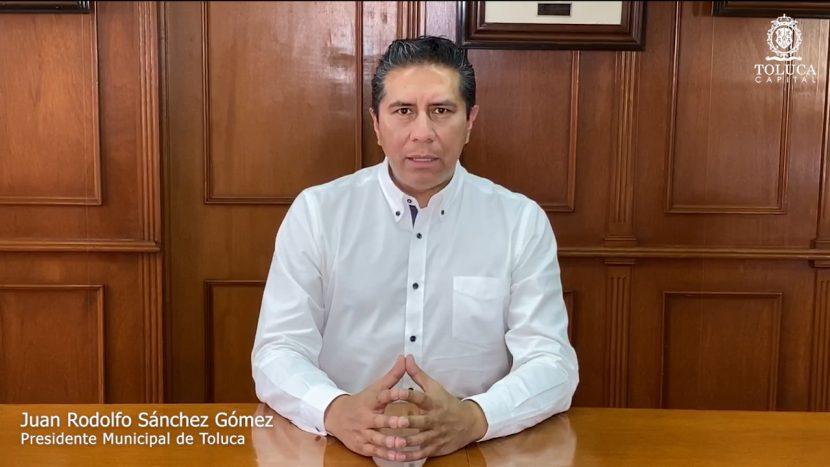 FALSO QUE EL PRESIDENTE MUNICIPAL DE TOLUCA SEA POSITIVO A COVID-19