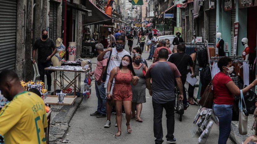 BRASIL LLEGA A UN MLLÓN DE CASOS DE CORONAVIRUS CUANDO LA CURVA DE CONTAGIOS PARECE DOBLAR