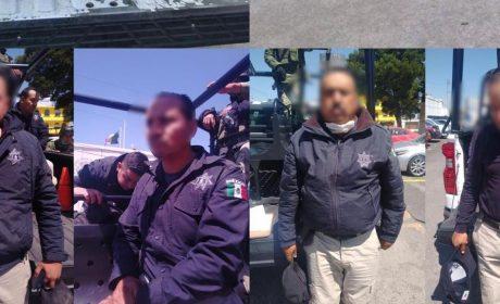 CASI LINCHAN A POLICÍAS EN ACAMBAY POR SUPUESTO HUACHICOLEO