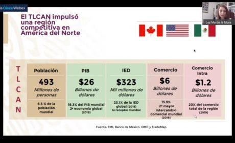 OFRECEN INFORMACIÓN A EMPRESARIOS MEXIQUENSES SOBRE BENEFICIOS DEL T-MEC