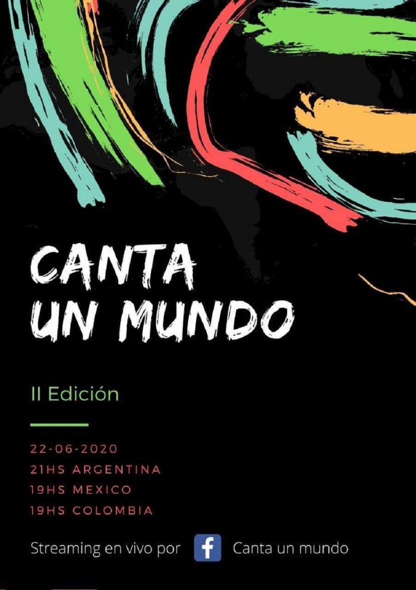 """PARTICIPA OCTETO VOCAL EN ENCUENTRO CORAL """"CANTA UN MUNDO"""" DE ARGENTINA VÍA STREAMING"""
