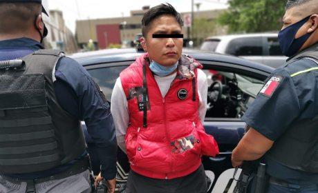 POLICÍA DE TOLUCA DETIENE A PRESUNTO ROBABICICLETA